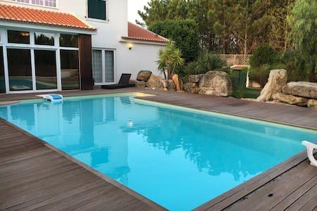 Casa c/piscina 5min campo de golfo - Dom