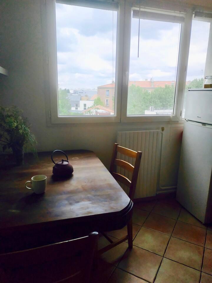 Appartement tout confort à deux pas de Paris !