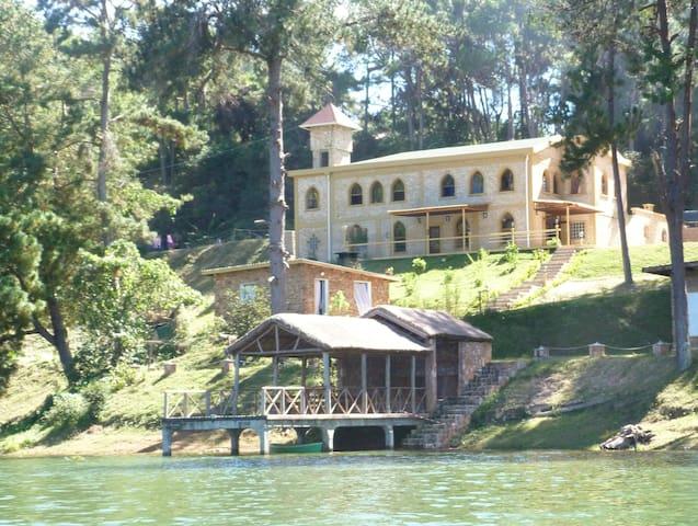 Le Château du Lac, sa vue, son confort, son ponton - Mantasoa - Hus