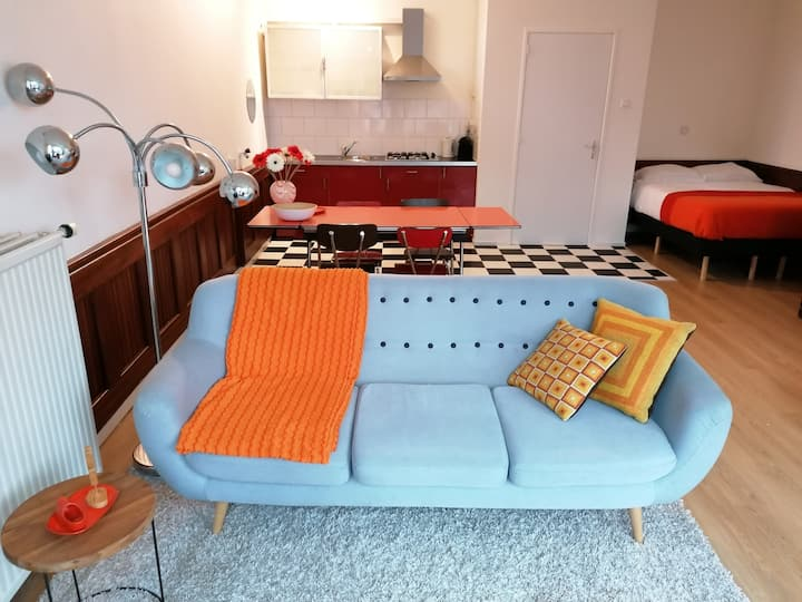 Spacious apartment 20 min from Amsterdam