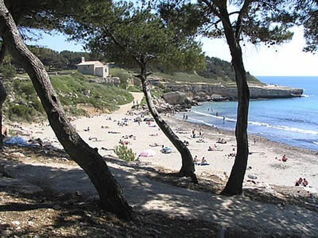 Martigues, T3 Neuf en bord de mer (accessible PMR)