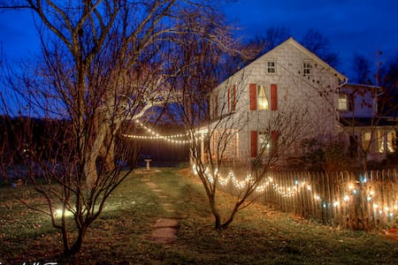 Cozy winter Farmhouse Getaway 1.5/NYC- 1/Philly - Alburtis