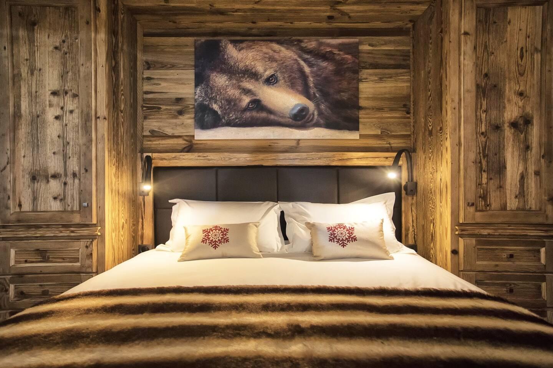 Chambre de l'ours face