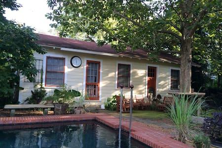 Charming cottage-historic district - Pensacola - Guesthouse