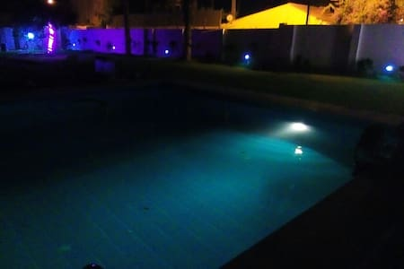 Enjoy the fresh air ,the pool and the barbecue