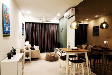 Cosy 2BD ,near to city centre - Kuala Lumpur - Apartment
