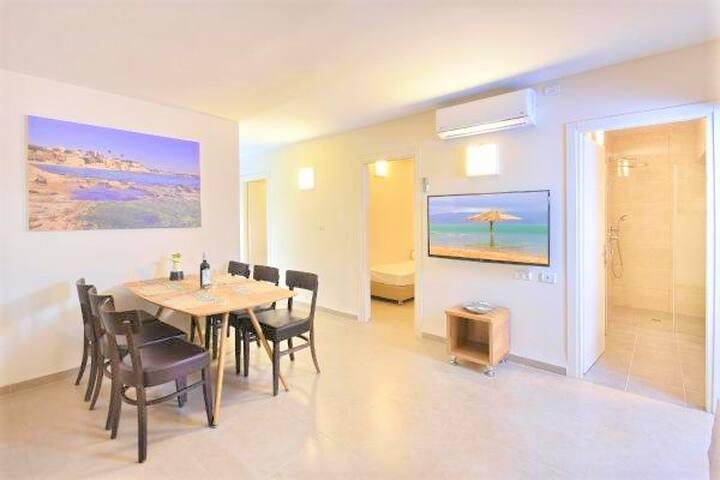 Achziv Island - 4Bdrm apartment + Beach Access