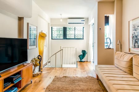 Peaceful Luxury Duplex Apartment close to Dizengoff Square