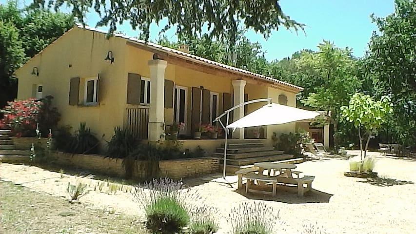 Villa indépendante spa+piscine chauffée, 4 + 2 enf - Fontarèches - Villa