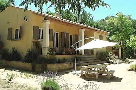 Villa indépendante, avec spa et piscine chauffée - Fontarèches - 別荘