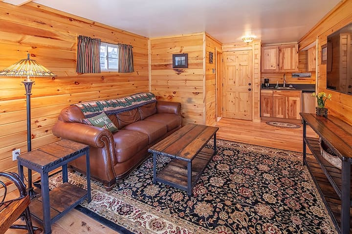 Knotty Pine at Pinecone Lodge on Lake George