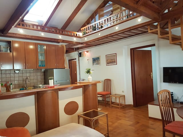 Two bedroom apartment with terrace in Jarun Zagreb
