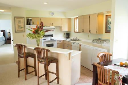 2 BR/2 BA Ocean & Mtn Views, Patio & Full Kitchen - Princeville