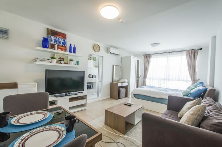 Cozy Room. Super Host and Reviews! - Hua Hin - Appartement en résidence
