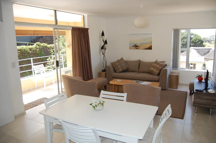 Spacious Central Sea View. Walk to beach and cafes