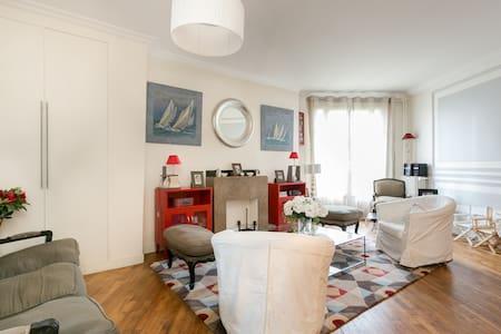 Western Paris - Family Apartment - Boulogne-Billancourt - Pis