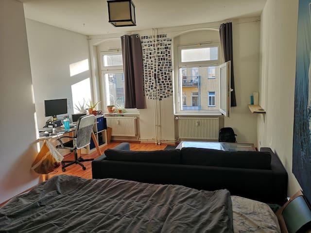 Cozy, bright room 11 mins from Alexanderplatz