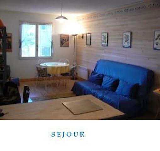 studio spacieux proche centre barcelonnette - Barcelonnette - Appartement