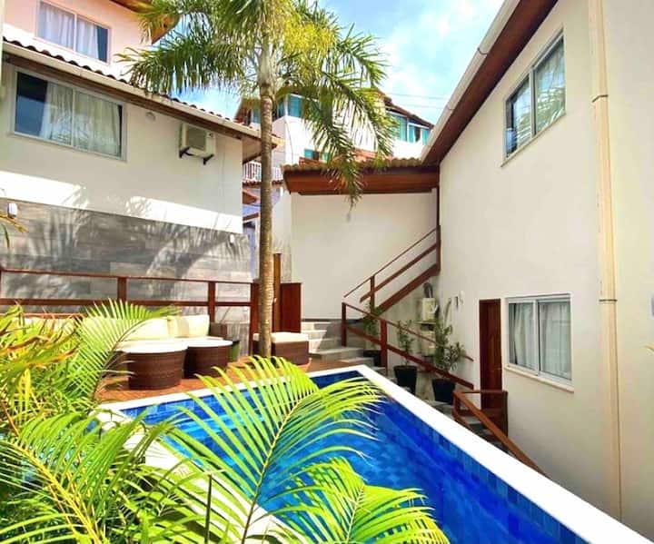 Flats MorrodeSP- Especial-40m Praia & Vila