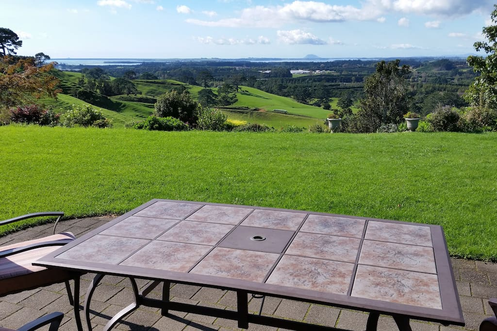 Enjoy the view whilst relaxing with a coffee & cake or wine & nibbles
