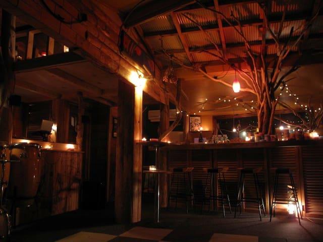 10~35人利用可 Barカウンター&Djブースのあるプライベートパーティー仕様のログハウス貸切!