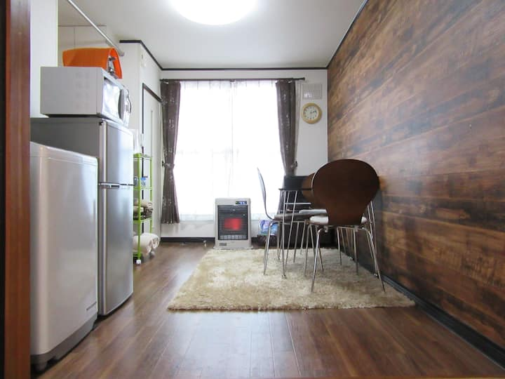 Lilac / Cozy Apt/Asahiyama Zoo/Free Wifi & P!