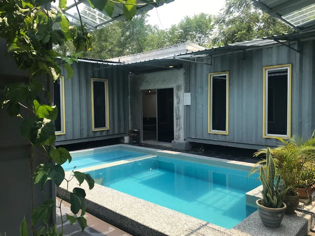 Beringin Cabin; Private Pool and BBQ