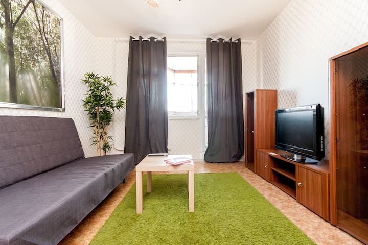 2-room Nice apartment in Lefortovo Moscow