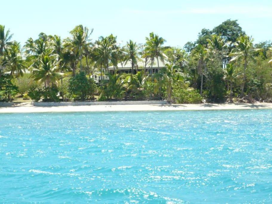 Hidden away in an island paradise..
