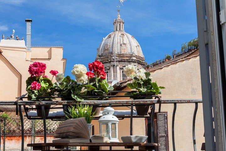 Boutique Domus Navona Librari Balcony Free Wifi - Rome - Appartement
