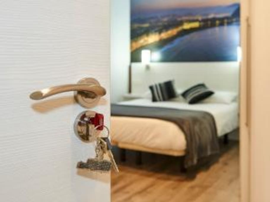 Double Room private with Bathroom!