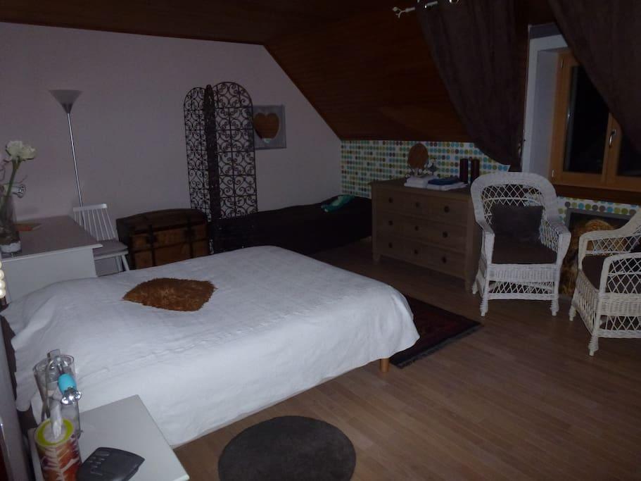La chambre d'hôte (voyage du monde).