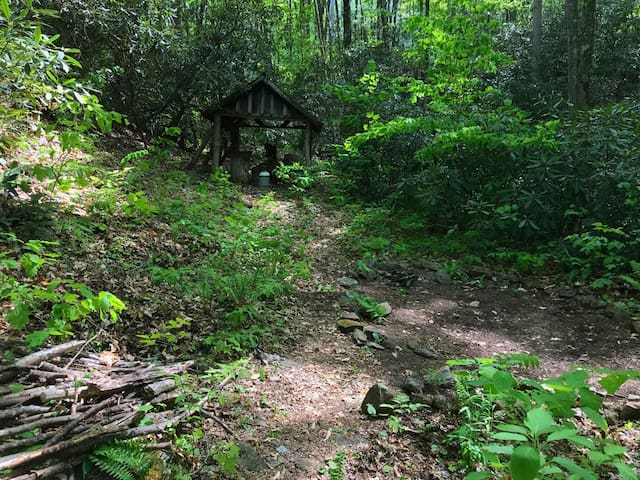 Off grid Eco Camp at Cold Mountain