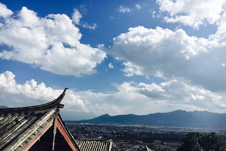 Indigo Pure--Wooden View House(青朴小院,躺在云端的房子) - Lijiang - Hus