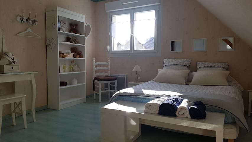 Lovely romantic room in Sillery near Reims