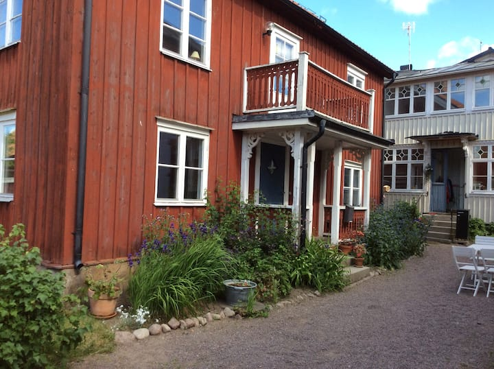 Lägenhet centralt i de äldre delarna av Vimmerby