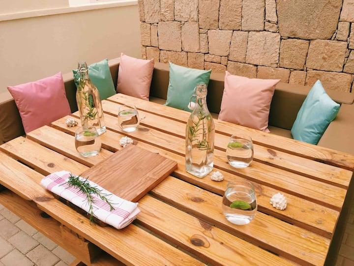 Terra Kriola @ Seaview - Garden - BBQ - A/C - WiFi