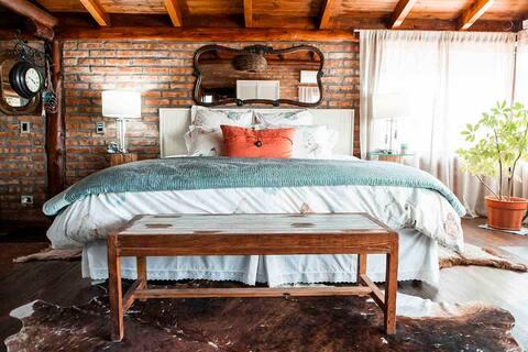Hermosa, cálida  y tranquila cabaña en Patagonia