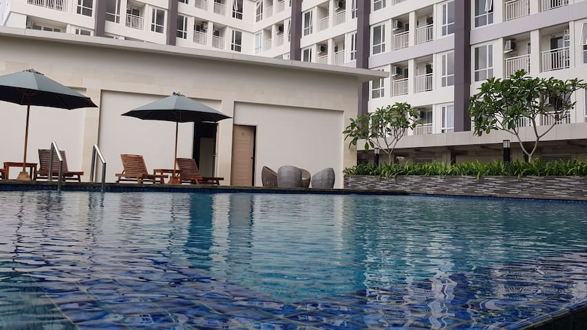 Apartment Taman Melati 1BR Merapi View Balcony