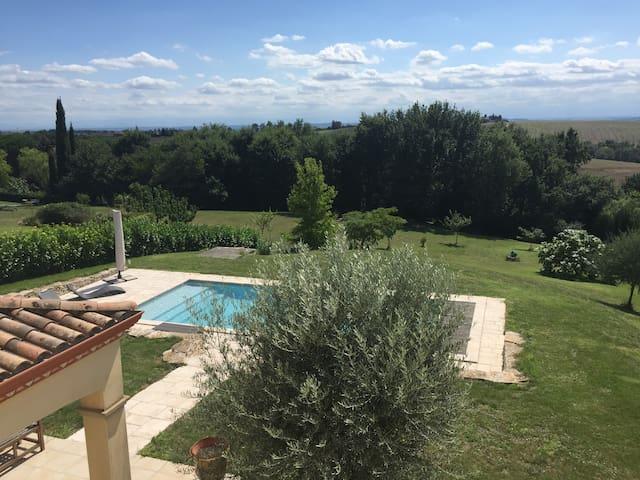 Superbe villa aux portes de Toulouse