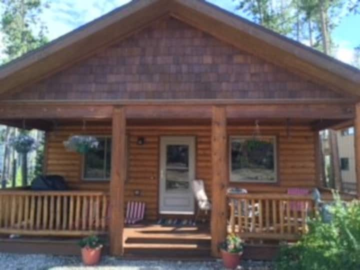 Cozy and sunny cabin with wildlife sightings