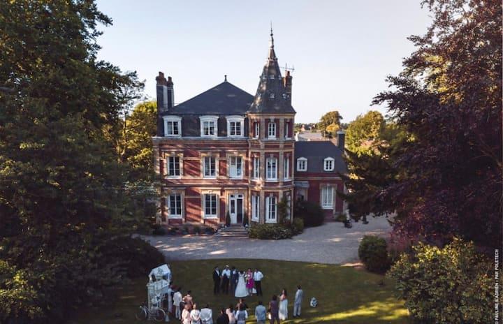 Chateau luxe Normandie en famille ou entre amis