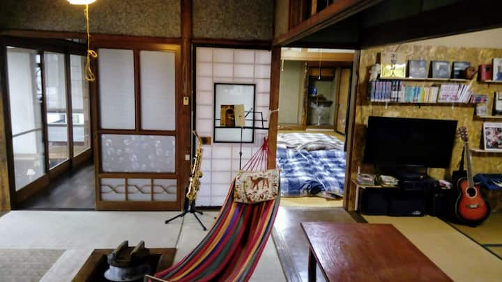 "Traditional Japanese house and garden ""HACHI"""