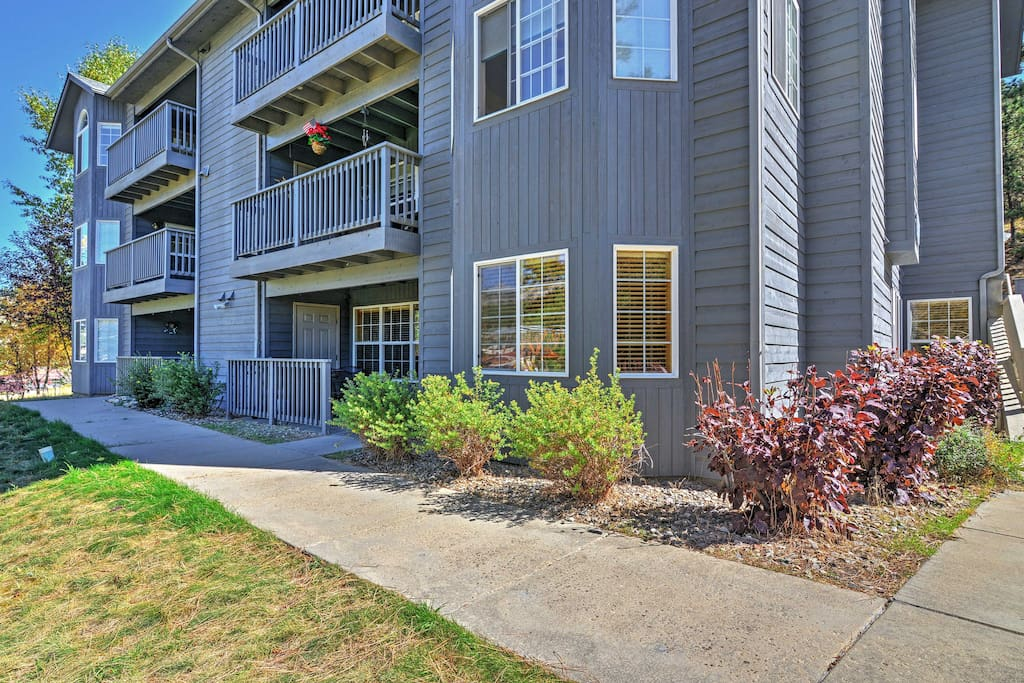 This ground condo has 36-inch doors & more amenities so it's suitable for all!