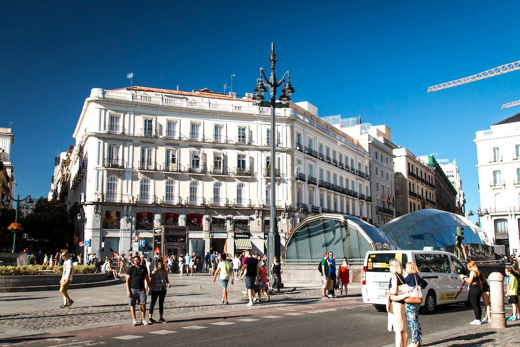 puerta del sol parking free houses for rent in madrid