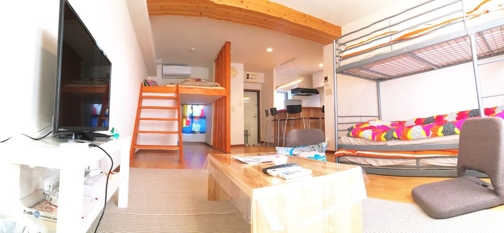 House in Chinatown! Max 4people stay! Free Wi-fi