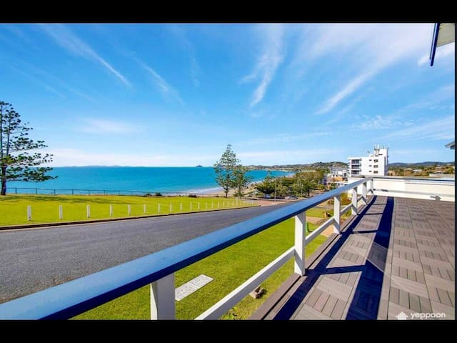 Central Yeppoon beach home view to the Keppel's