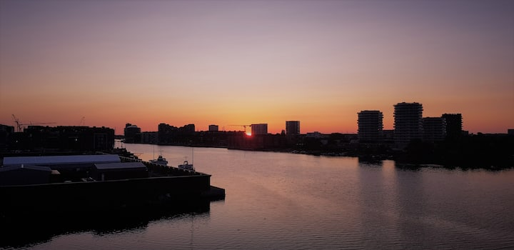 Amazing Copenhagen waterfront view