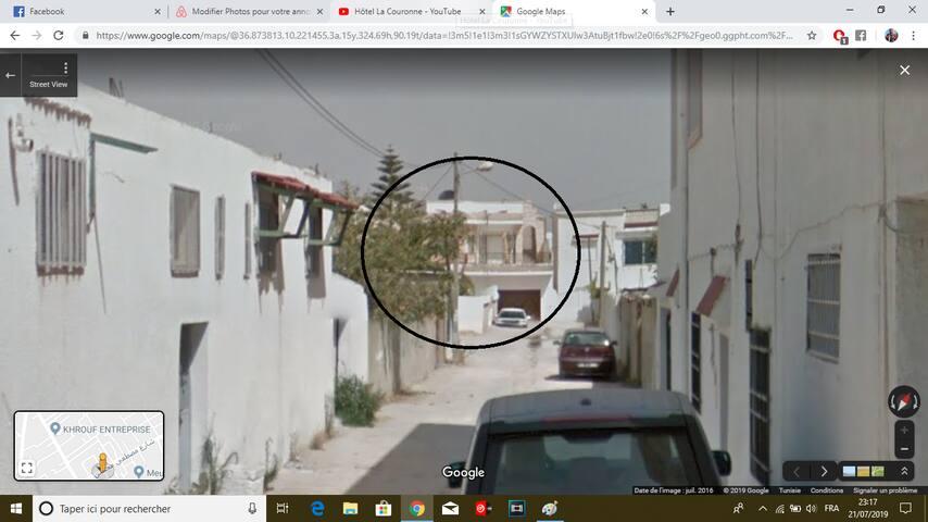 Logement Villa trés confort a Tunis