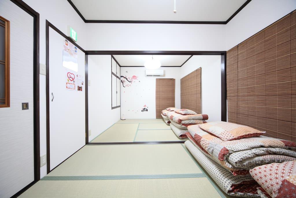 2F; Bedroom. 和室榻榻米臥室